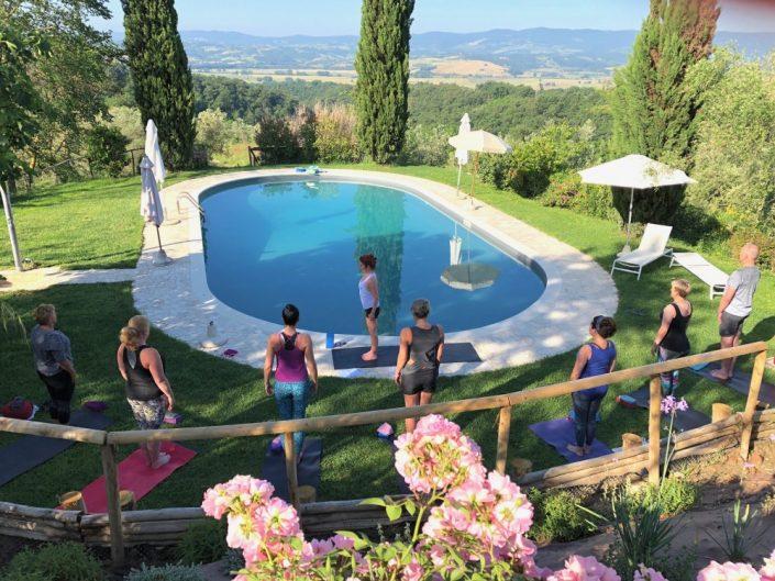 Yoga & Geniet vakantie Umbrië, Italië - Annemarie Braun
